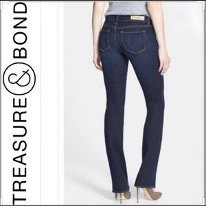 Treasure & Bond Mini Boot Fit Jeans Sz 30